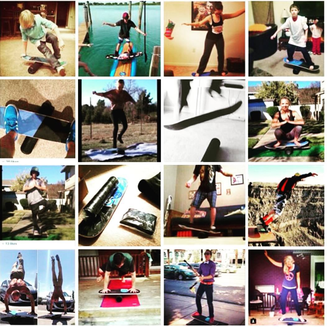 Thanks to everyone who has sent us some pics! #findyourbalance #revbalance #balanceboards