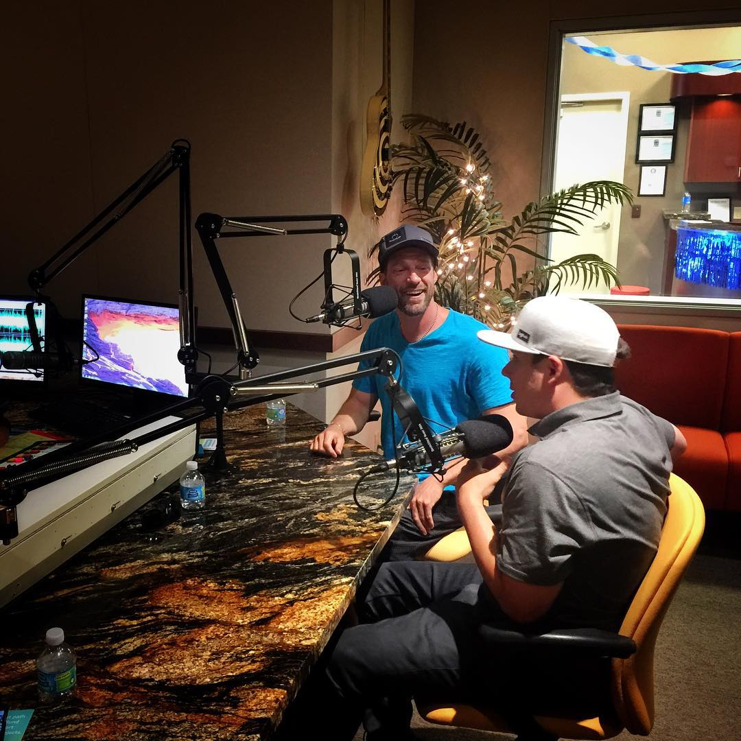 #RoyTuscany, @shawnakorgan & I had a fun interview this morning with #DonnaLewis of #LotusRadio, sharing the life-changing power of the @hi5sfoundation & our upcoming Full Circle mission around #LakeTahoe to raise funds for other #HighFivesAthletes...