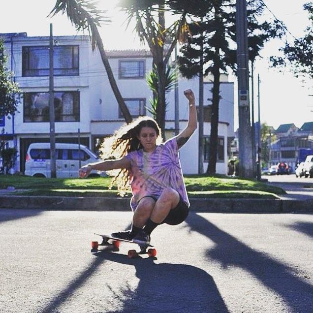 @maria_alejandra_chiappe from LGC Colombia!  Buenos dias familia!  Photo cred?  #longboardgirlscrew #womensupportingwomen #girlswhoshred #skatelikeagirl #mariaalejandrachiappe #lgccolombia #colombia