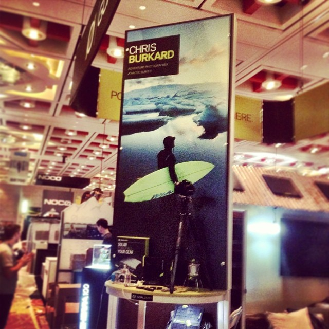 @goalzero and @chrisburkard great to see you at #orshow. Beers soon? We're at BR820!