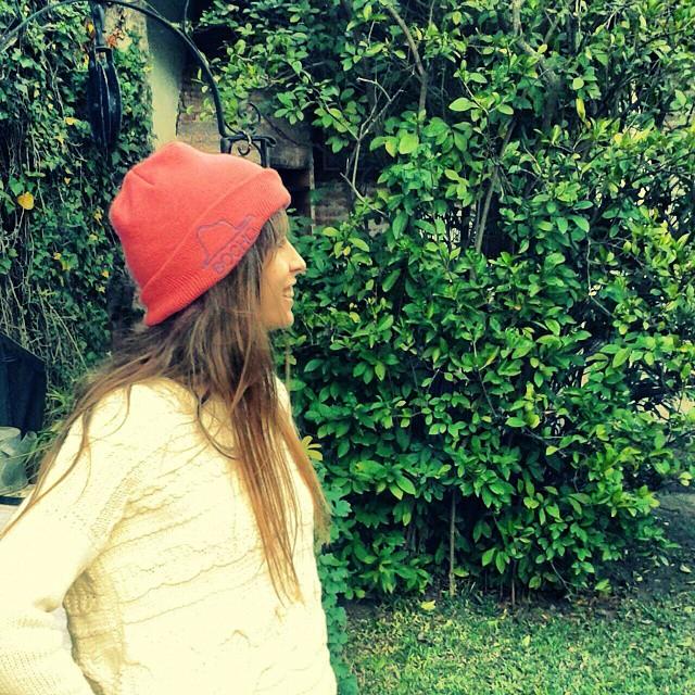 ella y su gorrito @paraelbocho