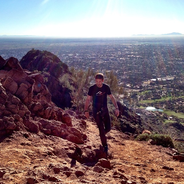 Day 3 of #imagingusa. Today we did all of #camelback before the show. That means we smell.