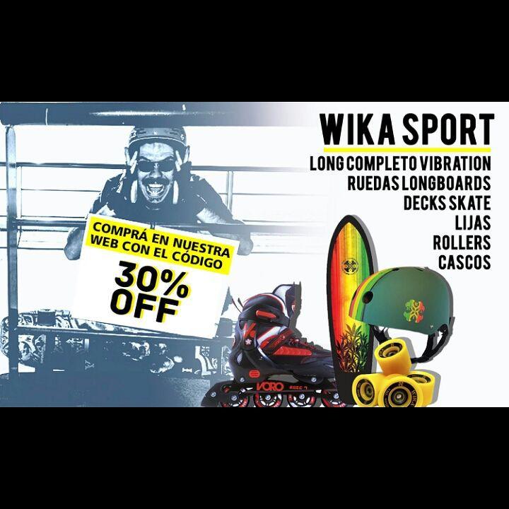 Si todavía no lo hiciste, entra a nuestra página y compra con 30 % OFF! www.wikasport.com  #longboarding #longboard #teamwika #argentina #instagood #instalike #smile #cool #nice #amazing #happy #photo #life #friends #longboardday #longboardcrew...