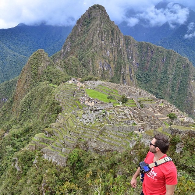 #capture making an appearance at #machupicchu last month. Anybody coming to #outdoorretailer or #imagingusa this month?