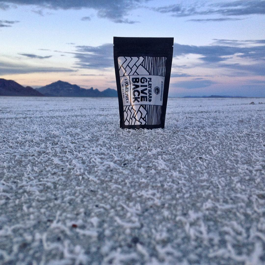 PHGB team member @ryrosseros is on the road meeting with our #athletes, #nonprofits, and #hotels that we are partnered with! Quick stop at the Bonneville #saltflats