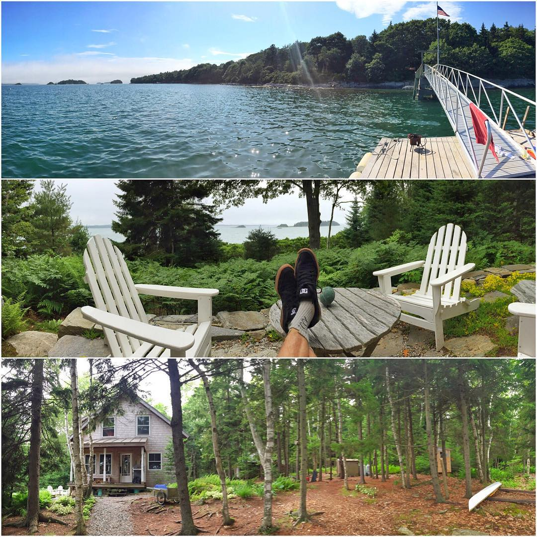 A few views from the private island home my family and I are currently occupying here on the coast of Maine. We have really enjoyed our time here - but, I'm definitely looking forward to staying at a hotel tonight, so we can use stuff like electricity,...