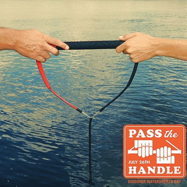 With a mission to share the passion for the activity of towed water sports worldwide, the second annual #PassTheHandle day has been set for July 26, 2015.  Backed by the WSIA and the entire industry, #PassTheHandle day will grow the participant levels...