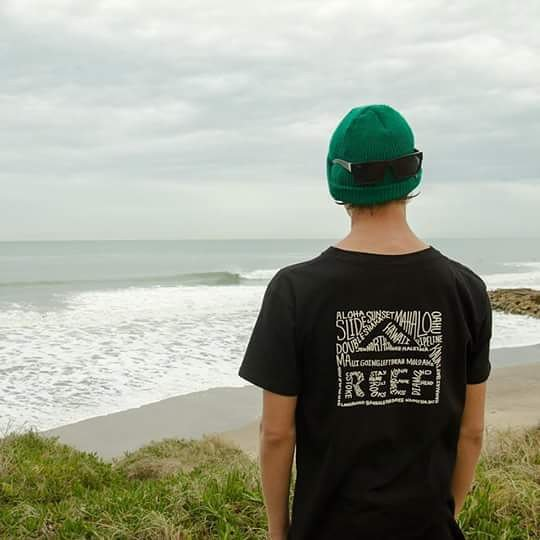 @sebas_ventura estrenando su remera Sly de Reef