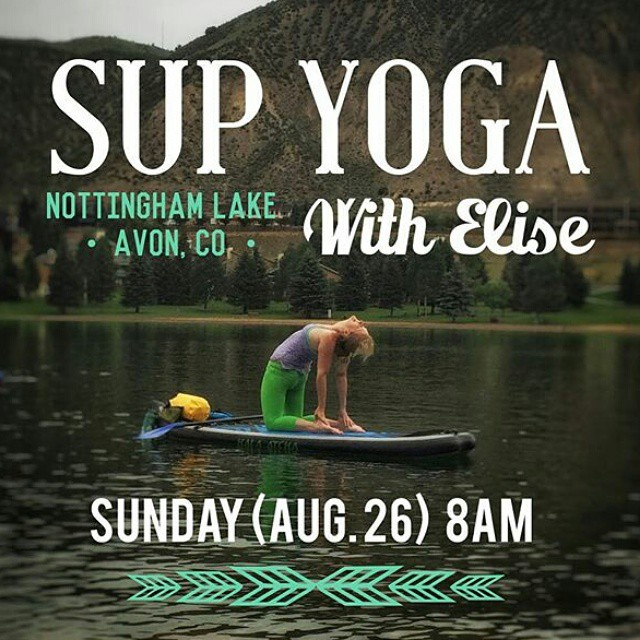 Time to plan your weekend adventures! Join @yoga_snow_love on Sunday morning for some fun on the water. Beginners welcome. It's $25 and includes your SUP rental. Come get out of your comfort zone and into the water #yogadesigned #yogaonsup #namastesup...