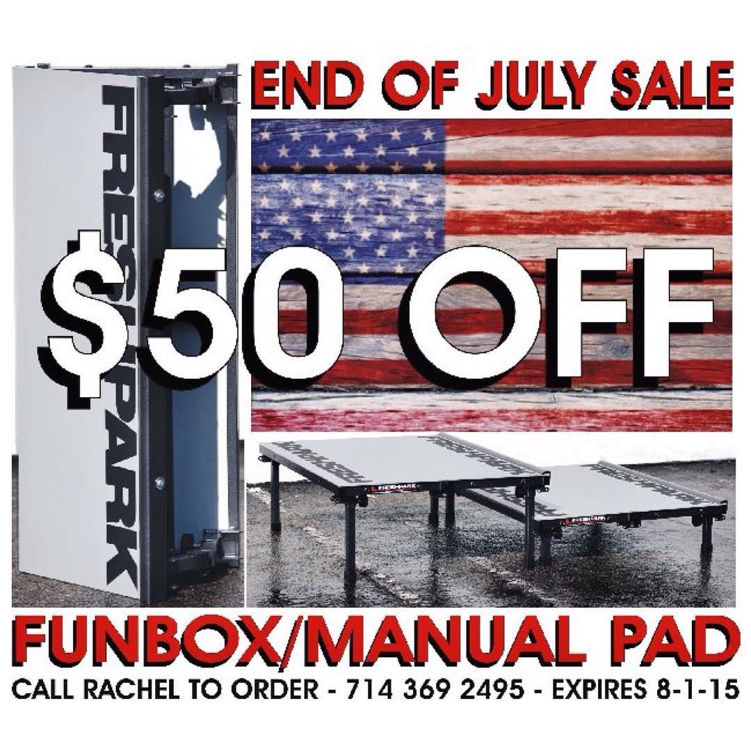 Fun Box/Manual Pad *SALE* !!!