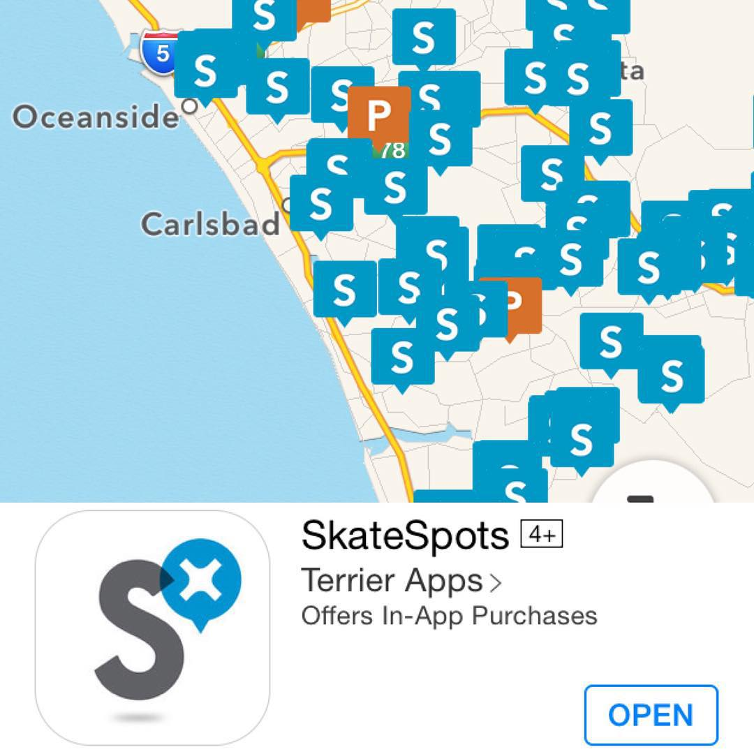 Need spots? The SkateSpots app got you covered! Never have a weekday brain meltdown again