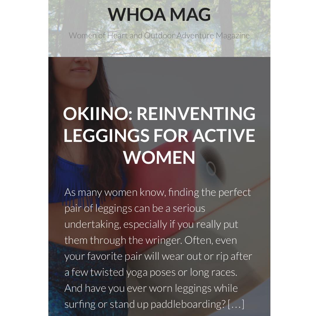 Super stoked to be featured by @whoamagwhoa highlighting Women of Heart and Outdoor Adventure.  Please checkout their site & the full article: http://www.whoamag.co/  Thanks for the #LoVE #WHOAmag #heart #outdoor #adventure #OKIINO