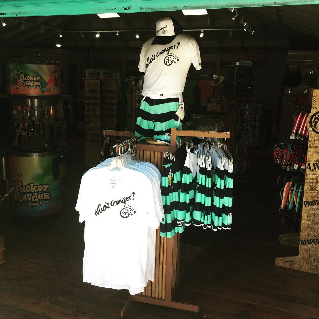 Granger Signature collection at Raging Waters San Dimas!