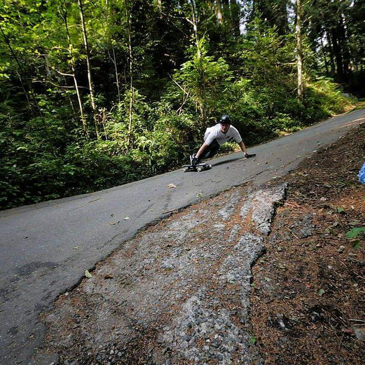 #viciousrider @tygillingham busting a toeside into a beautiful hairpin in the #bc wilderness @khashphoto