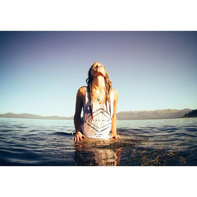 Shop the Wilder Ness tank at @TruckeeThursdays this evening.  @winterdubs by @kayalampa  _ #desolationsupply #itswayoutthere #DESO #madeinSF #bamboo