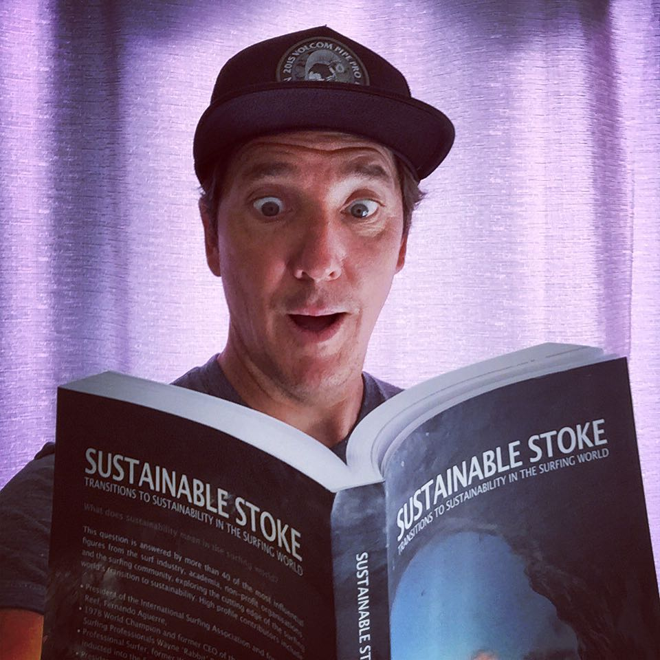 "We are totally (of course) ""stoked"" to finally have our own copy of the new 'Sustainable Stoke' book, hot of the press! --- Put together by two of our favorite Advisory Board members (Dr. Jess Ponting & Dr. Gregory Borne) , the collaboration between..."