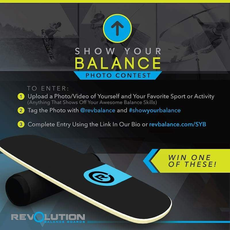 It's time for our first ever #revbalance  #showyourbalance contest!