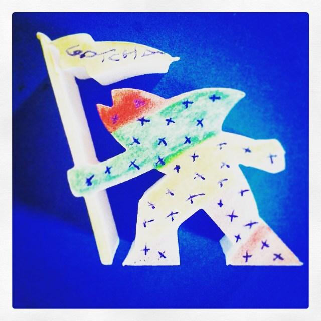 El #fishman de @diegokli #gotcha #gowiththeflow #GWTF #art #giveaway