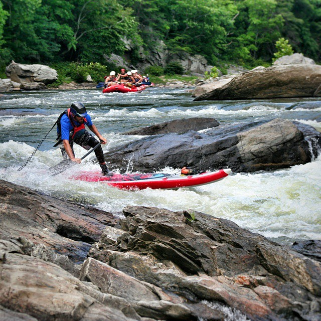 Team athlete @jacknife28 running the Nolichucky on the #HalaNass . #halagear #WhitewaterSUP #sup #theweeklyinsta #standuppaddle #adventuredesigned #whitewaterdesigned #Nolichucky PC: Matt Moses