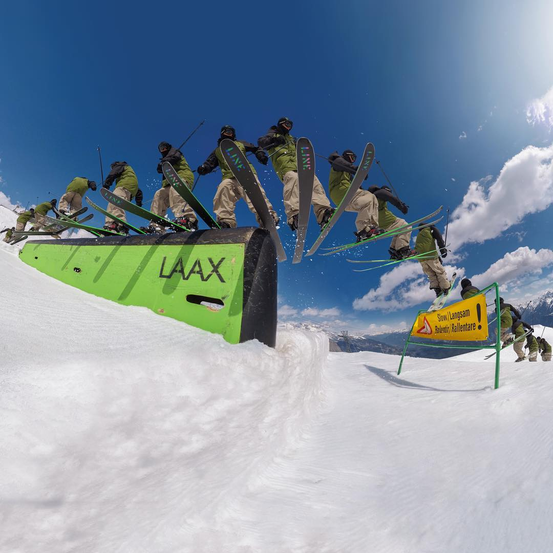 GoPro Featured Photographer - @jensen_granger  About the Shot: This was shot at the GoPro Athlete Summit in LAAX Switzerland a while back. I had blown my knee out on the first day of the camp, so I was stuck to the top of the jump line for the whole...
