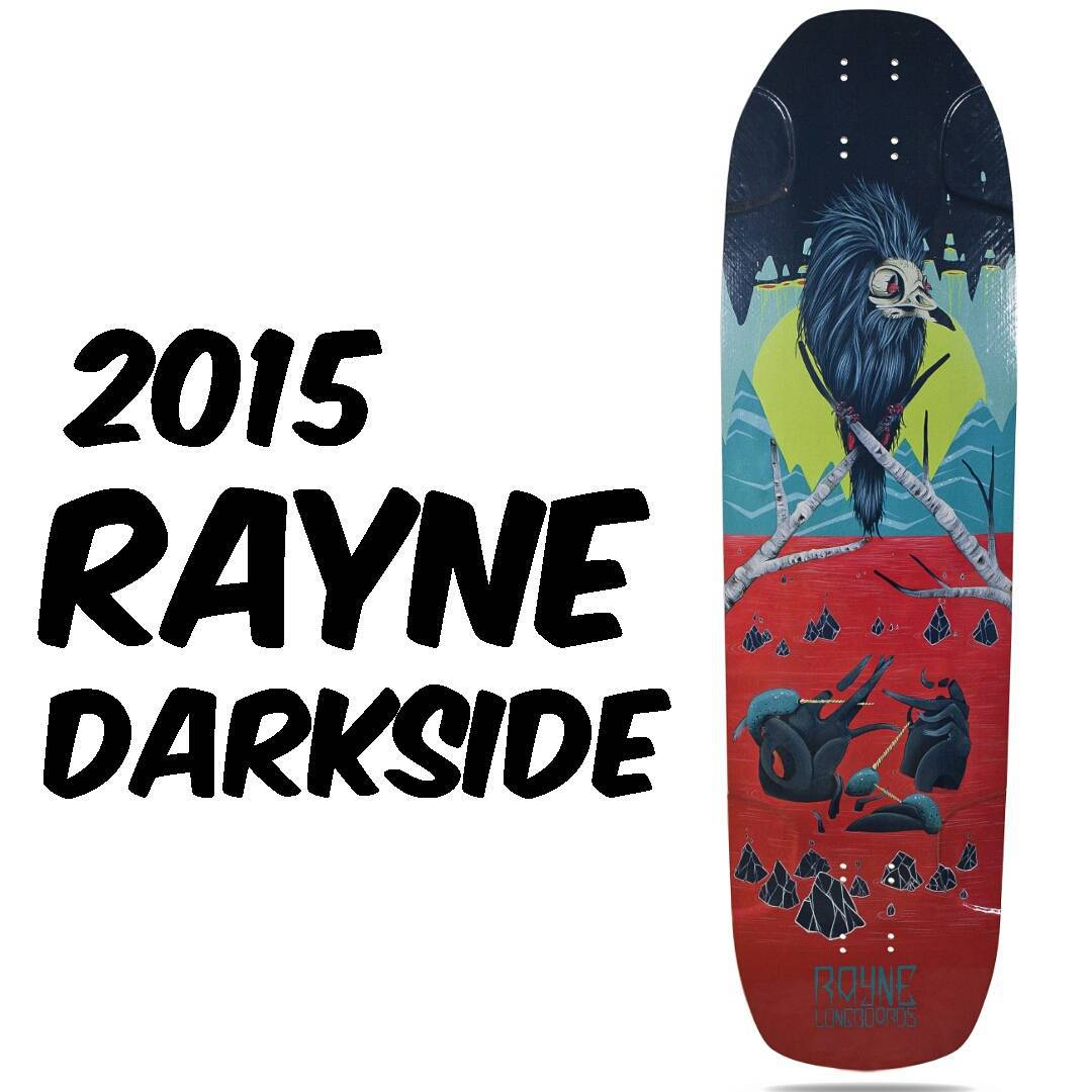 The new 2015 #raynedarkside is the #raynedeckoftheday  Click the link in our bio to find out what's new.  Added wheel wells, new graphic series, and so much more.