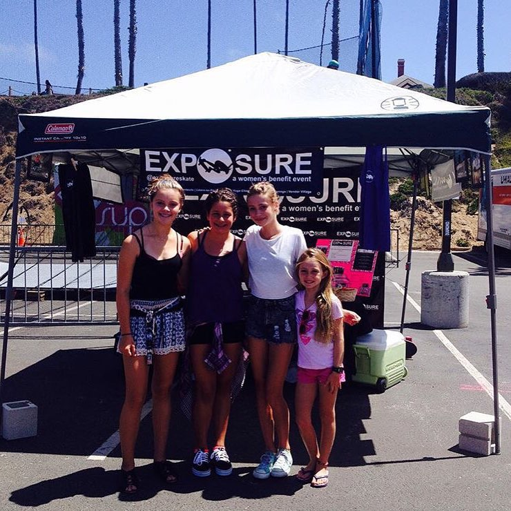 Exposure is at @supergirlpro!! Check out our awesome booth at Oceanside, CA!