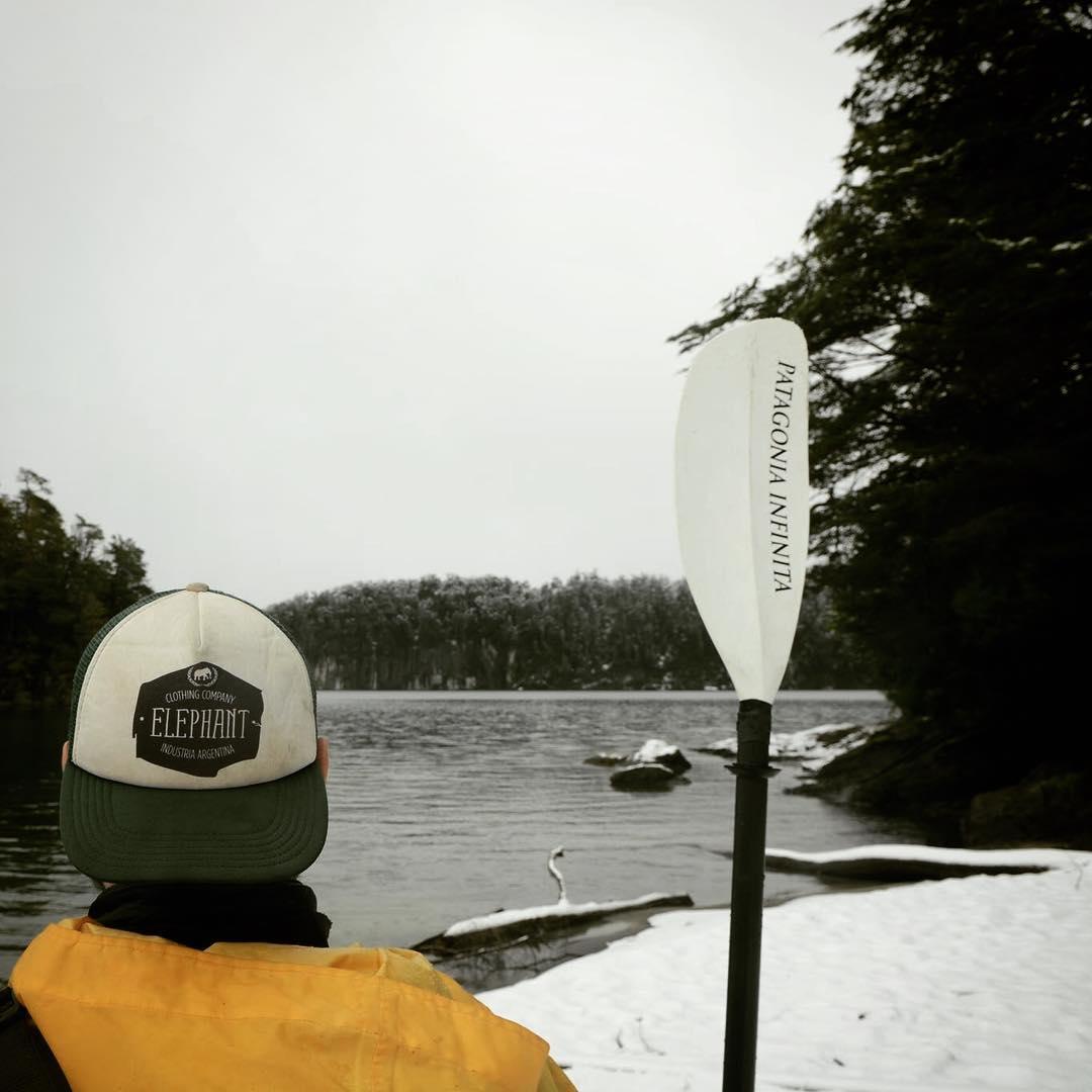 #wintermood #winter #snow #cap #elephant #jointheherd #remo #kayak #patagonia #nieve #invierno #gorra @elephantindumentaria