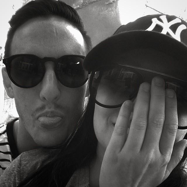 Hand + Face || @mskatiecat #handface #tongues #omg