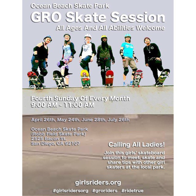 Stop by tomorrow #ridetrue #ladiesofshred #girlsthatskate