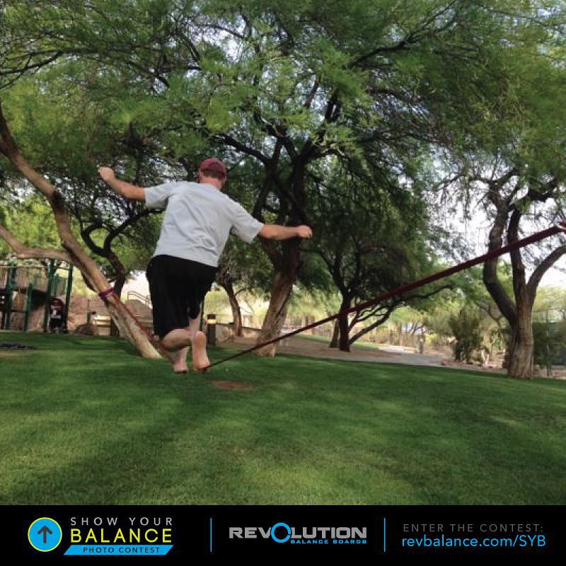 Steve just entered our #showyourbalance  contest!