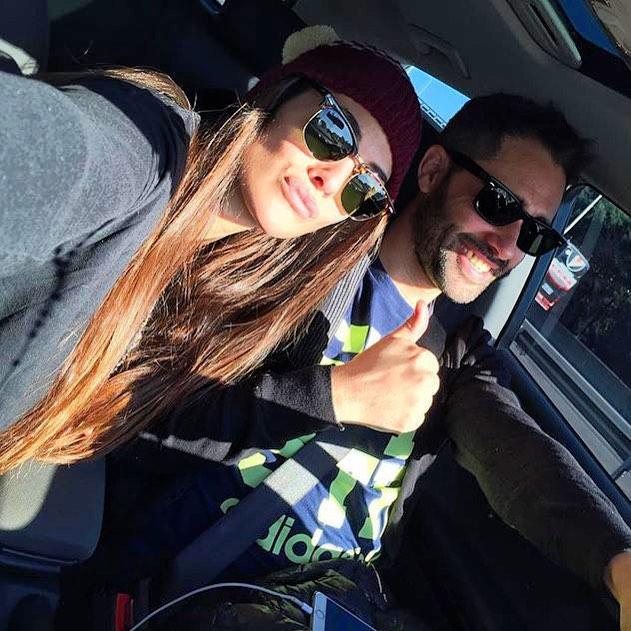 Acá nuestra amiga @ivinadal junto a @polloalvarez usando su #FloaterBeanie, todavía no tenes el tuyo? Conseguilo en www.underwavebrand.com