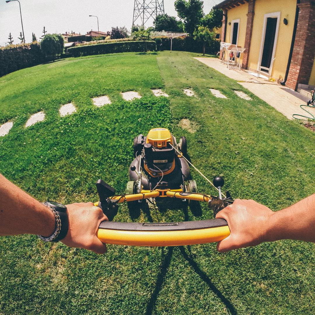 No fun until the housework is done! @nicolobonini takes care of business. #GoPro #GoProChores