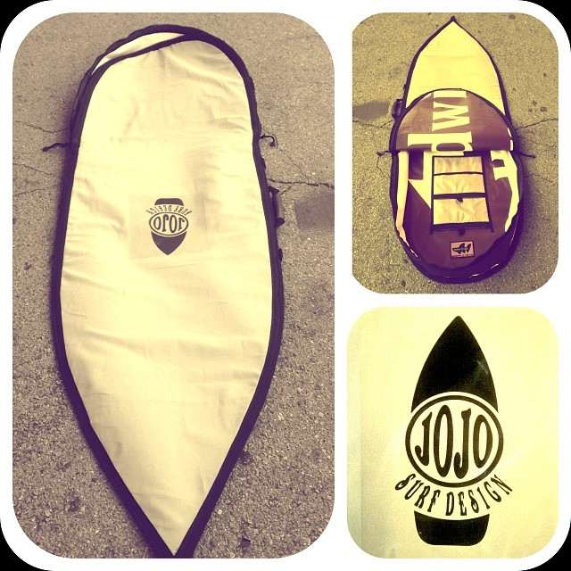 Wave Tribe custom boardbag for jojo surf designs. #madeinusa