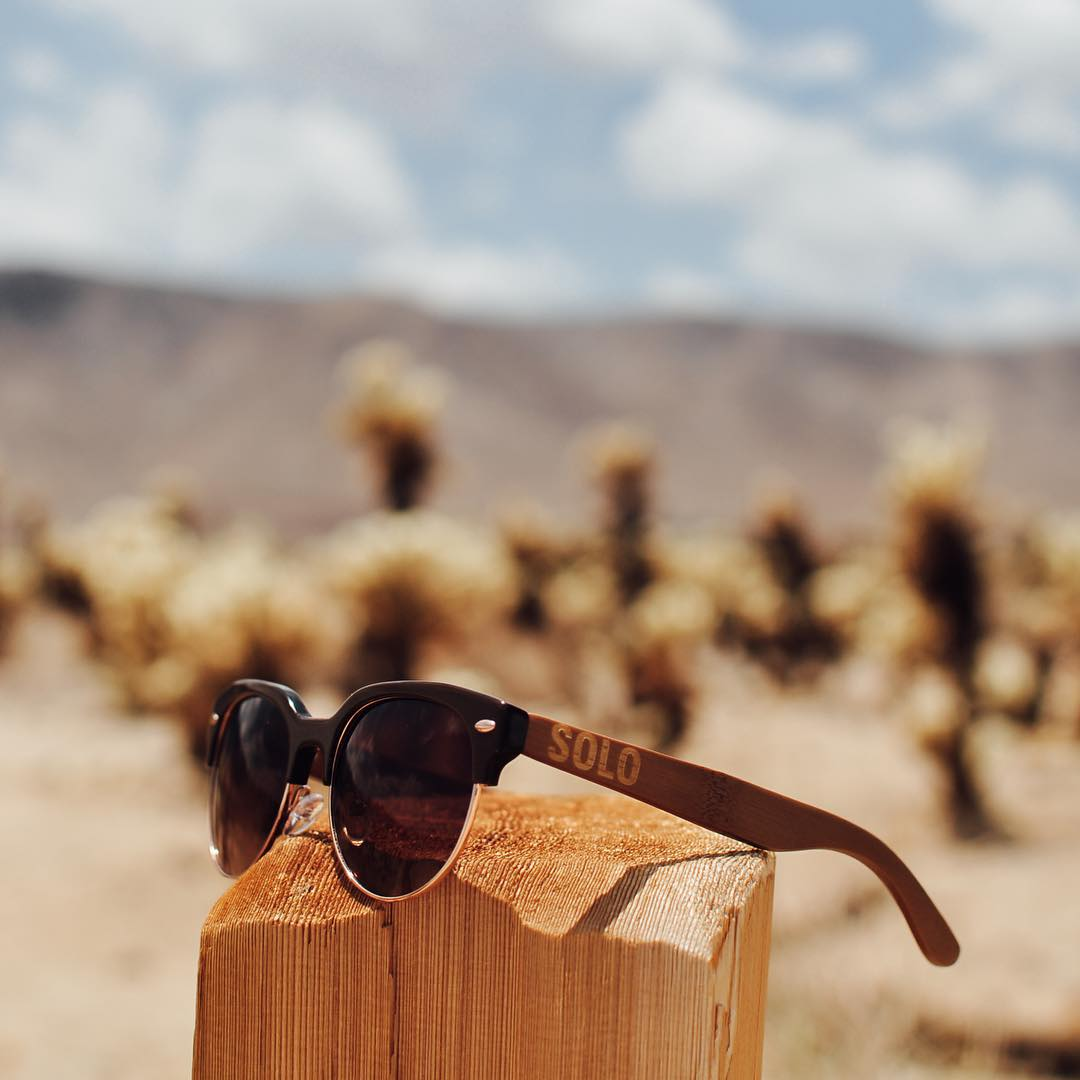 A cool shot of the popular Kenya frame by our lovely Creative Ambassador @reyesrachel! Each pair of our eco-friendly sunglasses funds eye care for people in need! Let's make a difference, one pair at a time!  #SOLOeyewear