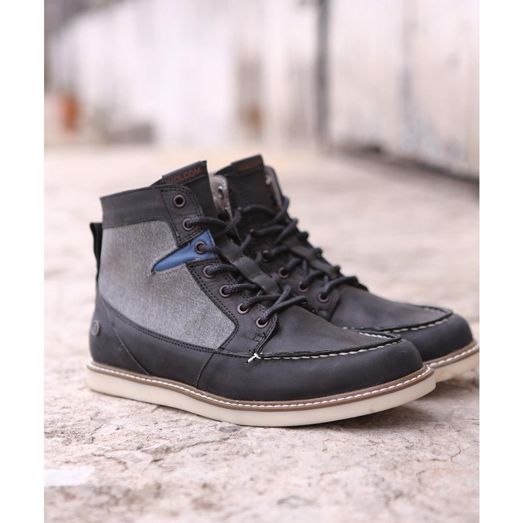 Berrington Black And Grey #VolcomFootwear #AW15 #TrueToThis