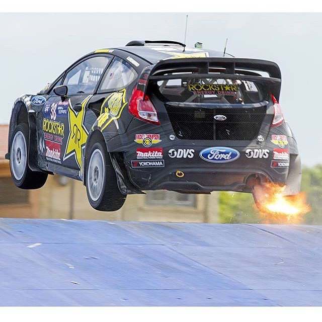 Day 2 of #GRC @fordperformance @rockstarenergy @chipganassiracing #rally #racing #detroit #deegan38
