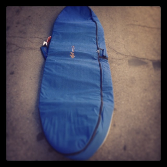 8'6 Wave Tribe #hemp Travel Bag en route to Synda for xmas. #surf #stoke