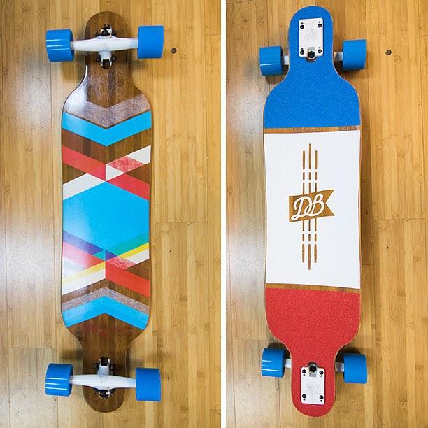 A custom Pioneer. Build you own custom longboard: DBlongboards.com! #longboard #longboarding #longboarder #dblongboards #goskate #skateboard #skateeveryday