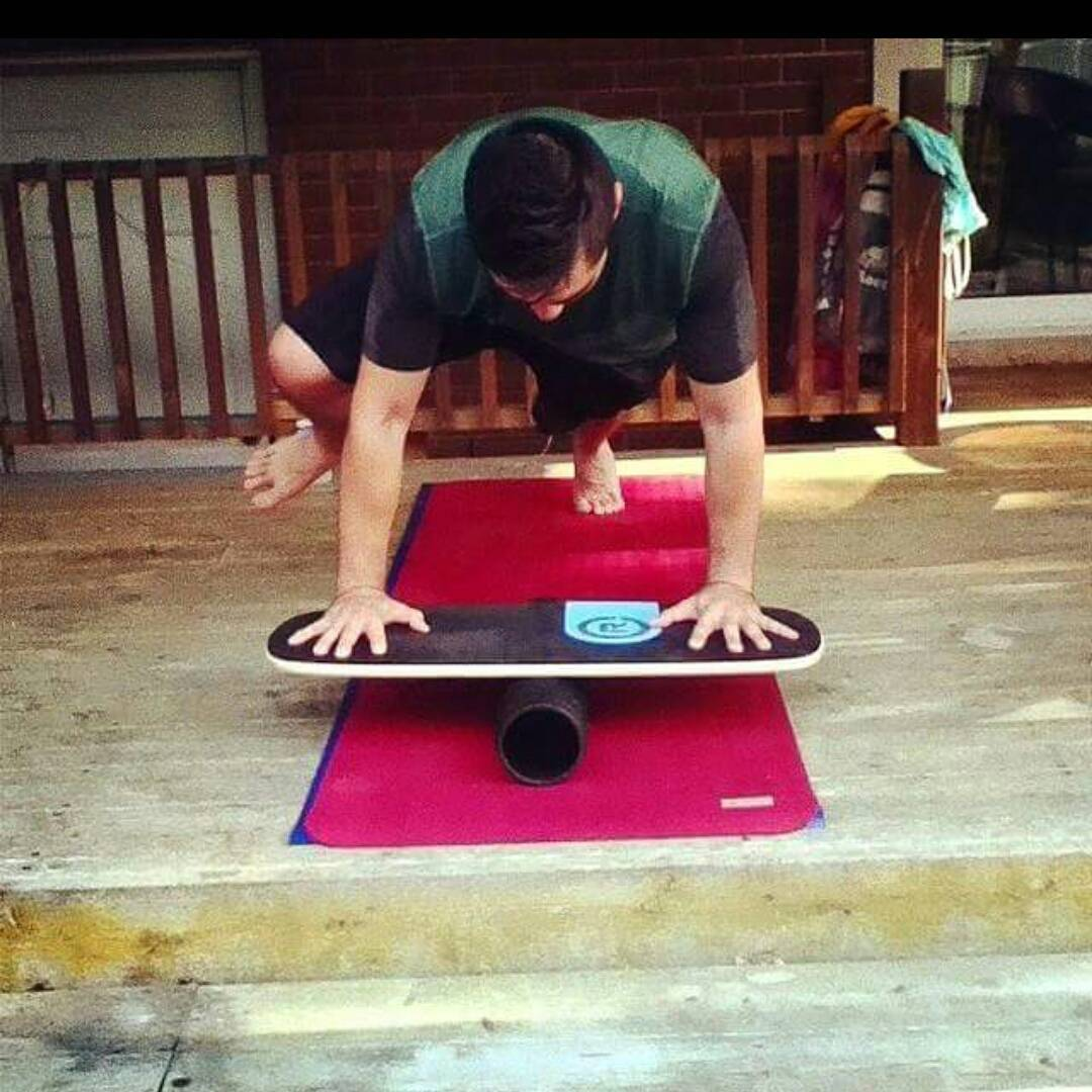 Cross training on our 101 balance board! Take your training to the next level