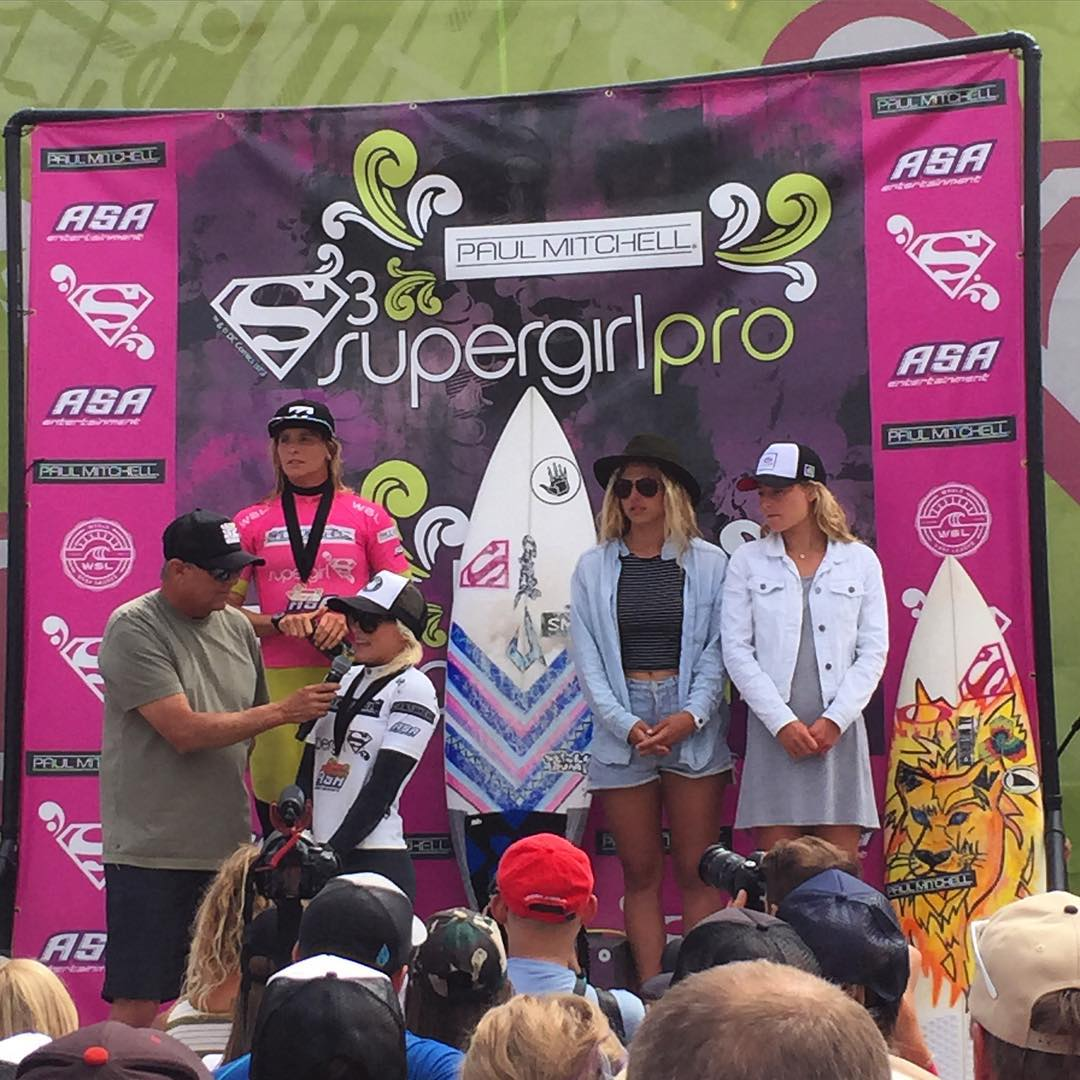 Congrats to the winner of the 2015 @SuperGirlPro @TatiWest !