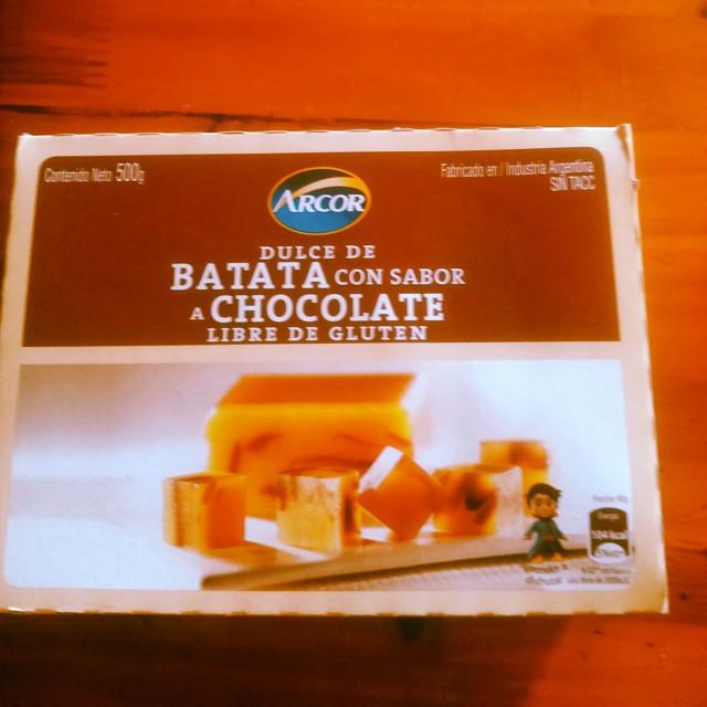 Me falta el queso cremoso y compartir con mi abuelo.  #Domingo #dulcebatata