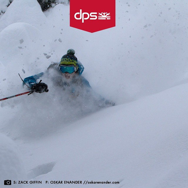 DPS Koala, @zackgiffin goes deep at @mtbakerskiarea. DPS' annual #Dreamtime event enters its last week. Visit the link in our profile today to shop specials on all 2015/16 skis, including the @protectourwinters Special Editions. Photo: oskar_enander....