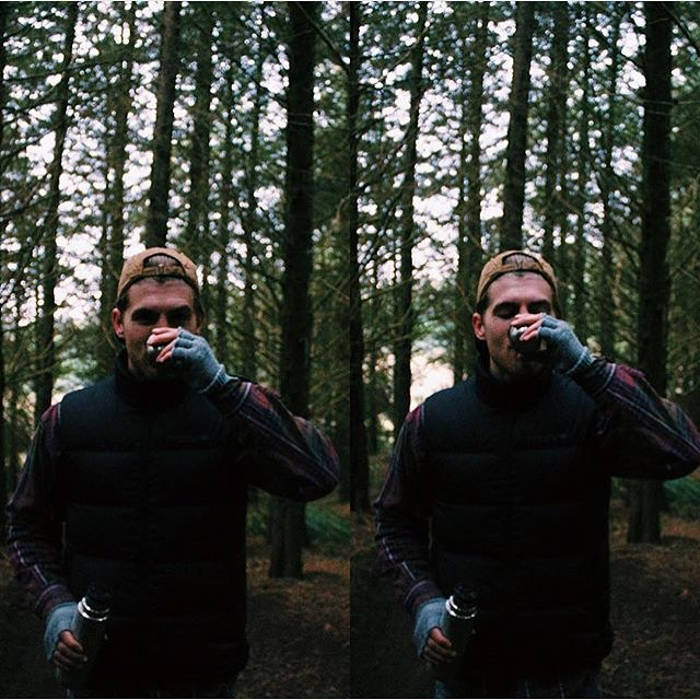 The weekend was so fun it has us seeing double! Regram of @samwines_ taking advantage of the outdoors. #coalheadwear