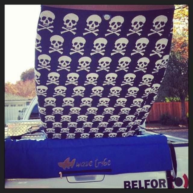 New Wave Tribe tailgate pad made from #hemp.