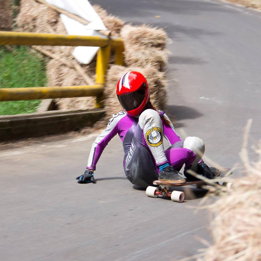 @gina_camelo looking smooth at the Leonera downhill race in Colombia.  Thanks for representing our brand, Gina!!!