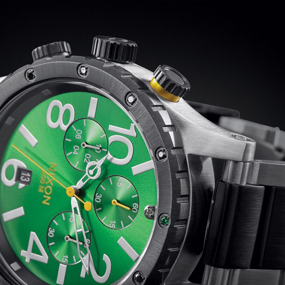 Introducing the 2015 #Nixon #4820Chrono @kingofgreens trophy watch. This one-of-one timepiece will be awarded to the winner of the #kingofgreens international golf tournament for action sports athletes taking place in Berlin on July 28th. Find out more...