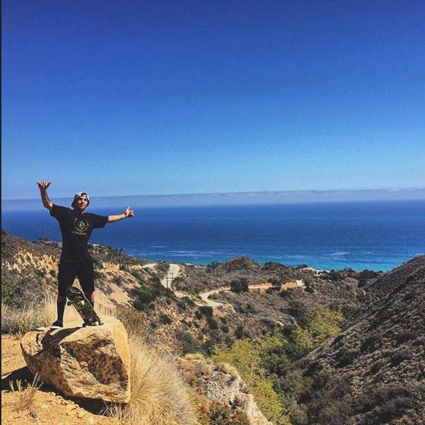 El Chino y una postal de #Malibu @sandromoral #California