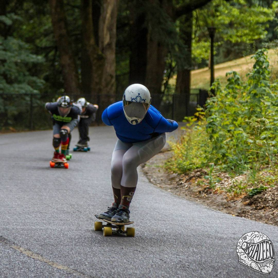 The last ever mt tabor downhill race went down this weekend  Here is @theerichoang leading the way down the legendary course that is Tabor.  Photo @khaleeqovision