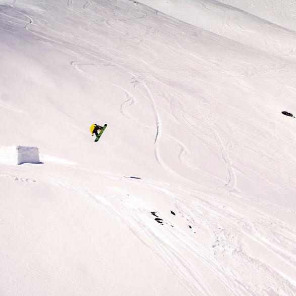 Thriving in Austria! @patrickpitter @wolfwieser #snowboard #relentless