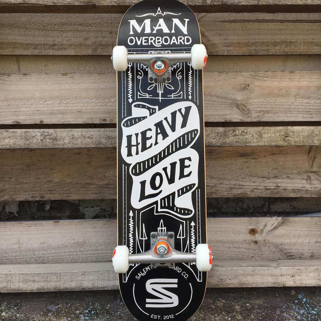 Grab a Limited Edition STBCo x @manoverboardnj deck or complete before they are gone. Link in profile. #MadeInAmerica